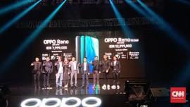 Oppo Banderol Reno Rp8 Juta dan Reno Zoom Edition Rp13 Juta