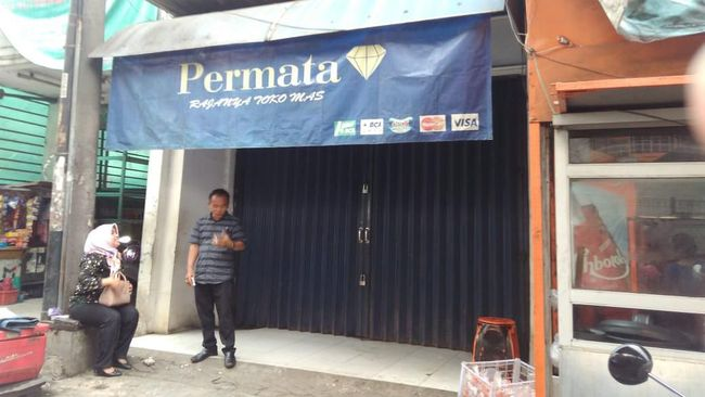 Polisi Kantongi Identitas Perampok Toko Emas di Balaraja
