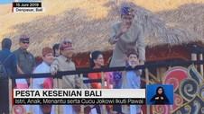 VIDEO: Presiden Jokowi & Jan Ethes di Pesta Kesenian Bali