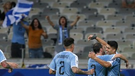 Foto: Pesta Gol Tandai Kiprah Timnas Uruguay di Copa America