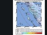 Gempa Magnitudo 5,3 Guncang Padang, Tak Ada Potensi Tsunami