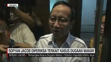 VIDEO: Sofyan Jacob Diperiksa Terkait Kasus Dugaan Makar