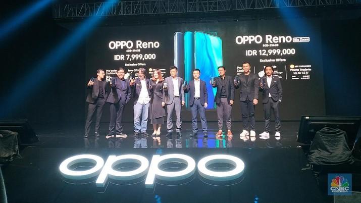 Oppo luncurkan Reno Series yang Reno Series sebagai pengganti R Series. Seri ini menggabungkan teknologi terkini dan kemampuan fotografi dalam desain yang unik.