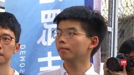 VIDEO: Usai Bebas, Aktivis Hong Kong Tolak RUU Ekstradisi