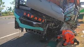 Sopir Bus Sinar Jaya Jadi Tersangka Tabrakan Maut di Cipali