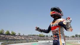 Honda Yakin Marquez Tetap Juara Tanpa Insiden Lorenzo