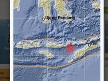 Gempa Magnitudo 5,6 Guncang Lembata, Tak Ada Potensi Tsunami