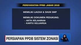 VIDEO: Persiapan PPDB Sistem Zonasi