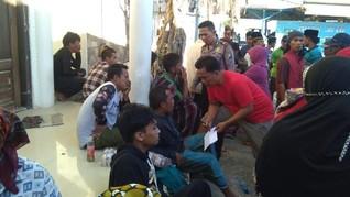 KM Arim Jaya Tenggelam, 5 Penumpang Belum Ditemukan