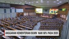 VIDEO: Anggaran Kementerian BUMN Naik 66% Pada 2020