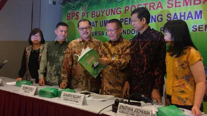 PT Buyung Poetra Sembada Tbk (HOKI) memutuskan membagikan dividen sebesar Rp 26,16 miliar.