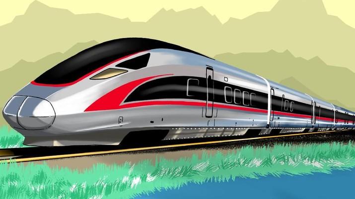 Infografis: Capai 350km/jam, ini spesifikasinya Kereta Cepat jakarta-bandung