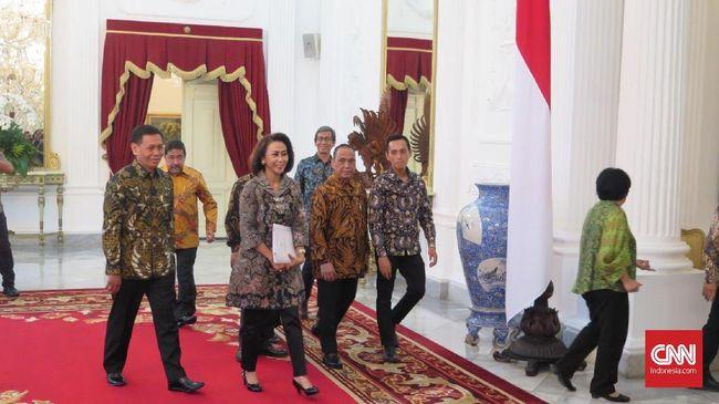 Jokowi Undang Pansel Calon Pimpinan KPK ke Istana