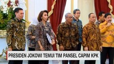VIDEO: Tim Pansel Capim KPK Temui Presiden Jokowi
