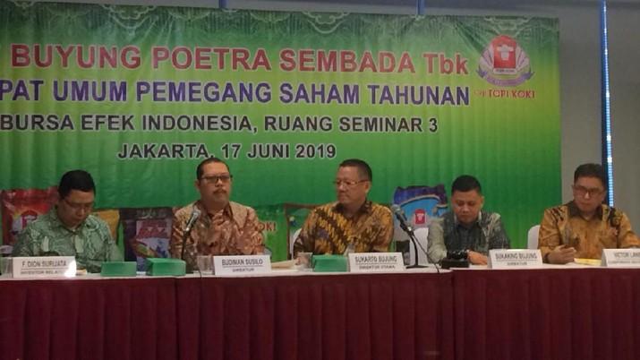 PT Buyung Poetra Sembada Tbk (HOKI) memperkirakan akan mencatatkan kenaikan pendapatan sebesar 5%-10% sepanjang Ramadan dan Lebaran tahun ini.