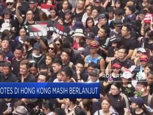 Protes di Hong Kong Masih Berlanjut
