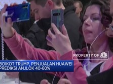 Diboikot Trump, Penjualan Huawei Diprediksi Turun Hingga 60%