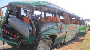 Penumpang Perebut Kemudi Sopir Bus di Cipali Jadi Tersangka