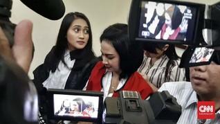 Tangis Vanessa Angel Pecah Usai Vonis 5 Bulan Penjara