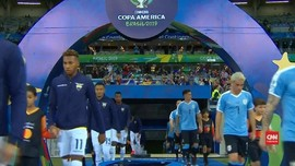VIDEO: Momen Uruguay Bantai Ekuador 4-0 di Copa America