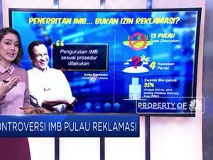 Kontroversi IMB Pulau Reklamasi