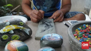 Geliat 'Ikan Koi' di Batu Mang Obe