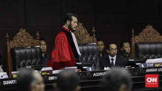 Waktu Salat Zuhur dan Makan, Hakim MK Skors Sidang Pilpres