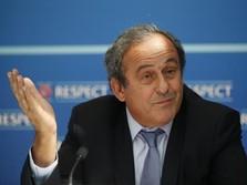 Legenda Sepak Bola Prancis Michel Platini Ditahan
