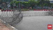 Sidang MK, Jalan ke Istana Ditutup Kawat Duri dan Beton