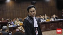 Yusril Keberatan Dua Saksi Prabowo di MK Diganti