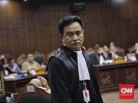 Yusril: Klaim Menang Prabowo Dikutip dari Ahli Tak Dikenal