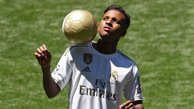 Rodrygo Tak Mau Dijuluki 'Neymar dari Real Madrid'
