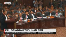 VIDEO: KPU Sanggah Tuduhan BPN Karena Dinilai Tak Terbukti