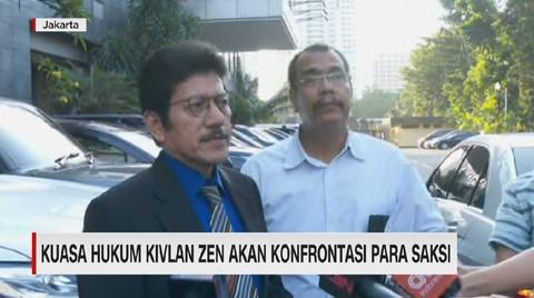 VIDEO: Kuasa Hukum Kivlan Zen Akan Konfrontasi Para Saksi
