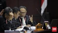 Cecar Ahli IT soal Situng, Tim Hukum 02 Ditegur Hakim MK