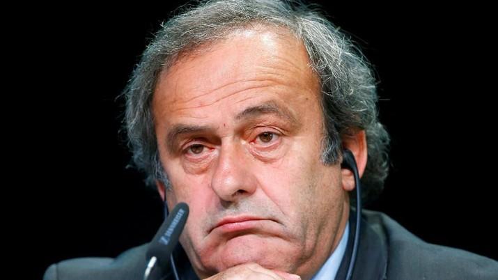 Legenda sepak bola asal Prancis, Michel Platini, ditahan pada Selasa (18/6/2019) pagi di negaranya.