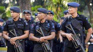 Pilpres 2019 Usai, Brimob Nusantara Dikirim Kembali ke Daerah