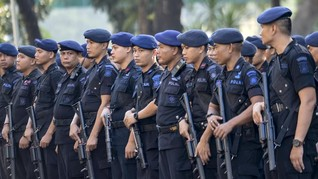 Usai Kawal Pemilu, 100 Brimob Riau Dikirim Amankan Freeport