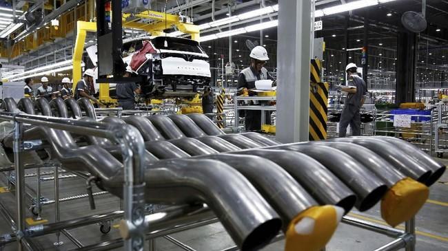 Selama ini Vietnam menjadi negara tujuan ekspor mobil-mobil Jepang dan Jerman serta AS. (REUTERS/Kham)