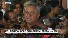 VIDEO: KPU Tidak Tanggapi Permohonan Tambahan BPN