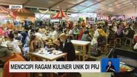 VIDEO: Mencicipi Ragam Kuliner Unik di PRJ