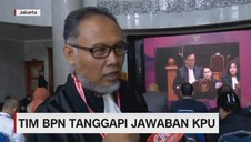 VIDEO: Tim BPN Tanggapi Jawaban KPU