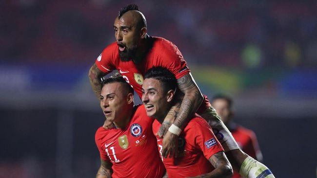 Hasil Copa America 2019: Chile 4-0 Jepang
