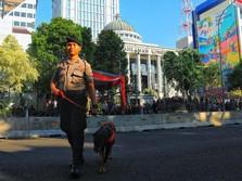 Anjing Pelacak Ikut Amankan Sidang Sengketa Pilpres di MK