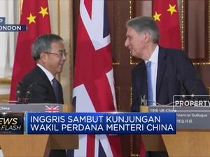 Inggris Perkuat Kerja Sama Ekonomi dengan China