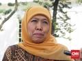 Gubernur Jatim Khofifah Dukung Prabowo Jadi Menhan