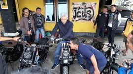 Beli Motor Modifikasi, Ganjar Pranowo Minta Diskon