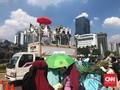 Massa Aksi Bubar, Demo Kawal Sidang MK Berlangsung Tertib