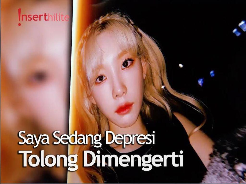 Buat Khawatir Penggemar, Taeyeon SNSD Akui Derita Depresi
