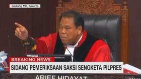 VIDEO: Debat Panas Hakim MK & Bambang Widjojanto